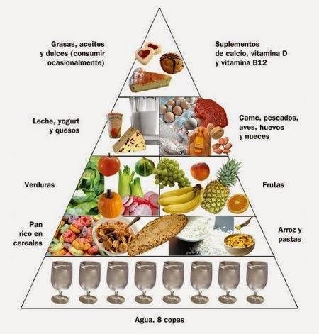 Piramide de Alimentacion