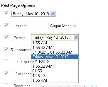 how to change date of post on facebook