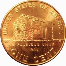 """2009-D LINCOLN CENT  ROLL /""""BIRTHPLACE/"""" LOG CABIN"""