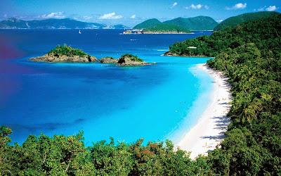 Cinnamon Bay - Ilha St. John - Ilhas Virgens Americanas
