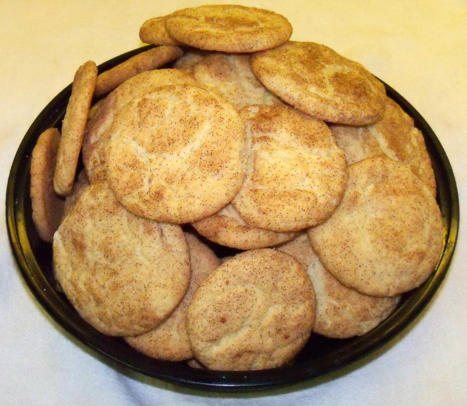 Busy Mommy Gourmet Living: Mrs. Sigg's Snickerdoodles