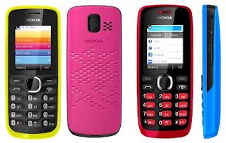 Nokia 110 Dual GSM Harga Rp. 499.000