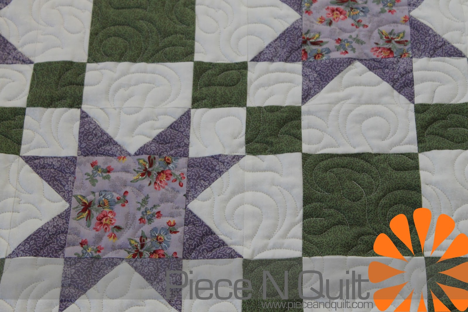 Piece N Quilt: Nine Patches & Sawtooth Stars