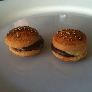 cheeseburger cookies from spork