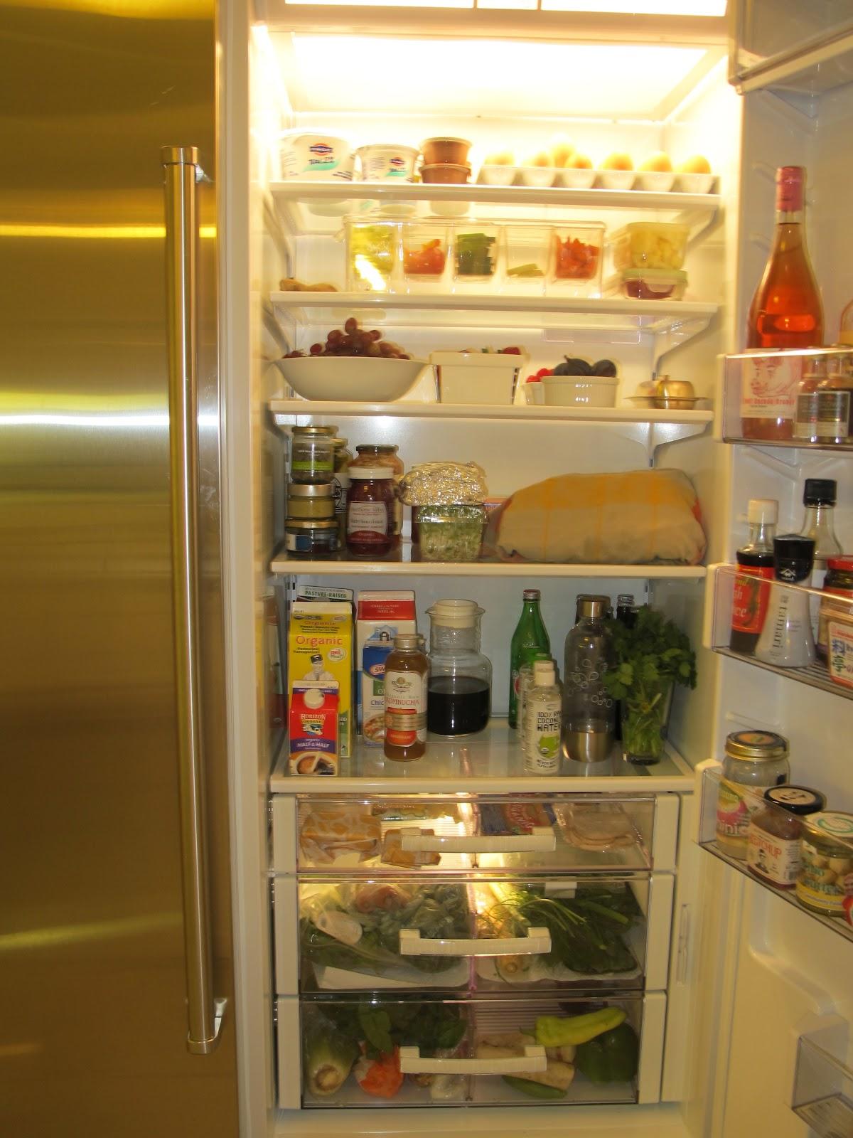 Foodtrainers: RefrigeRaider: How to Organize a Healthy Fridge Organized Refrigerator Healthy