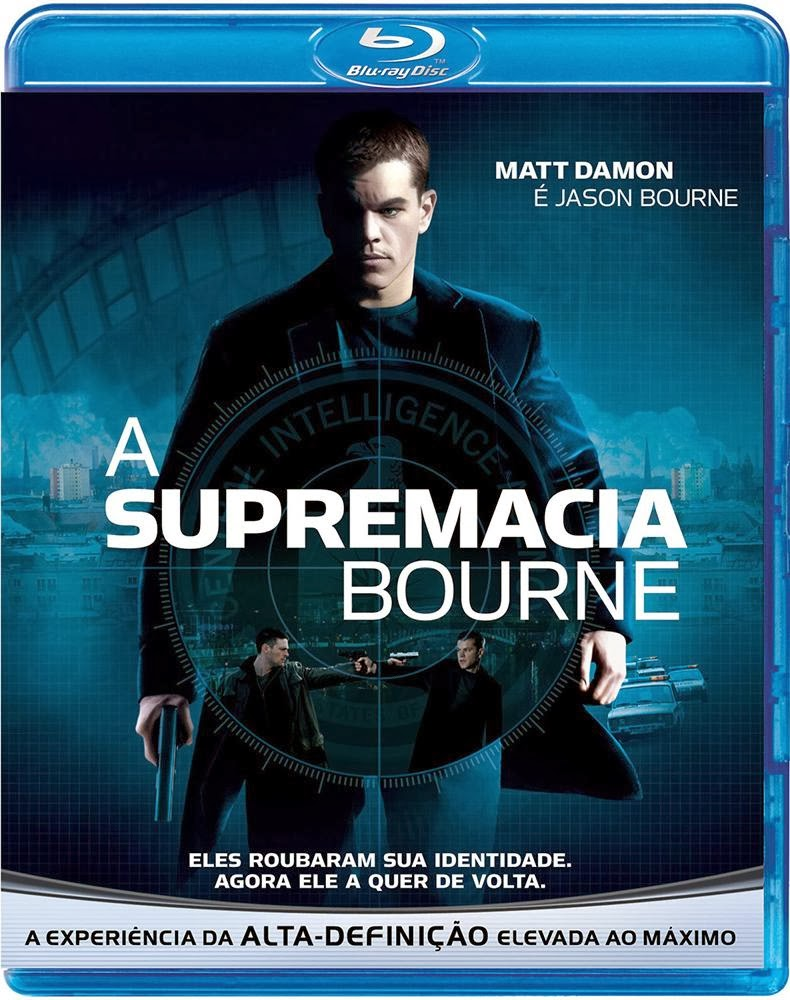 A SUPREMACIA BOURNE (2004) BDRIP BLURAY 1080P TORRENT DUBLADO