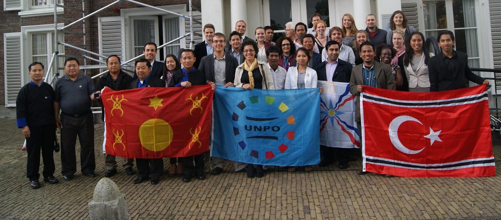 Presentasi ASNLF dalam Pelatihan UNPO