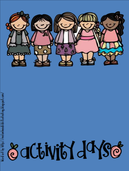 Didi @ Relief Society: Activity Days - Binder Cover