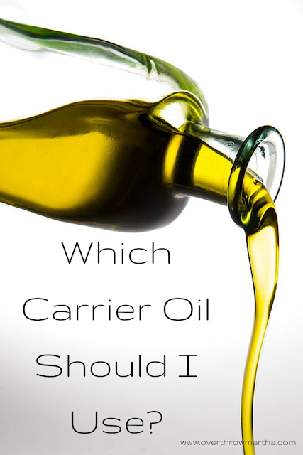 Which carrier oils should I use in #DIYbeauty salt or sugar scrubs?