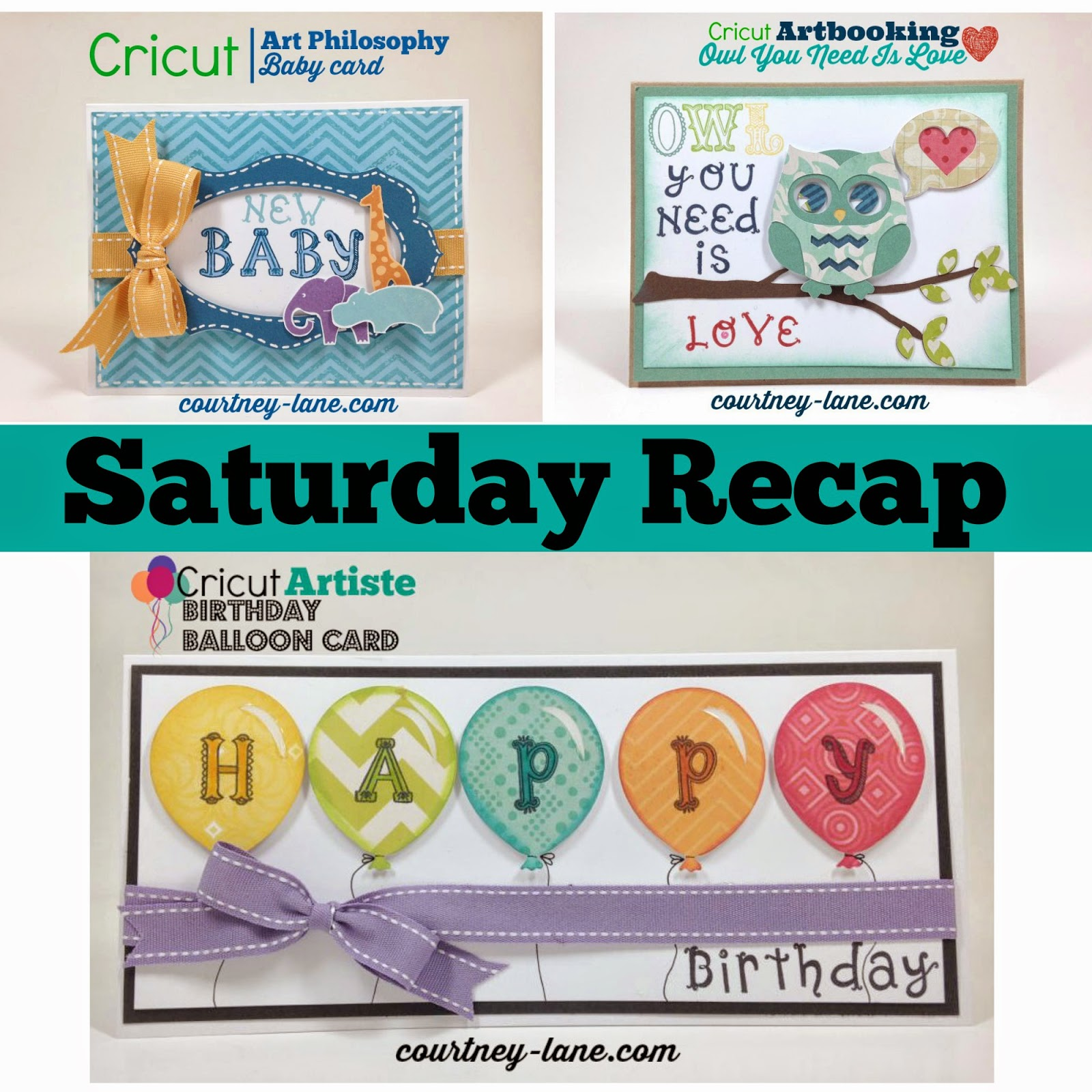 Cricut Project Saturday Recap