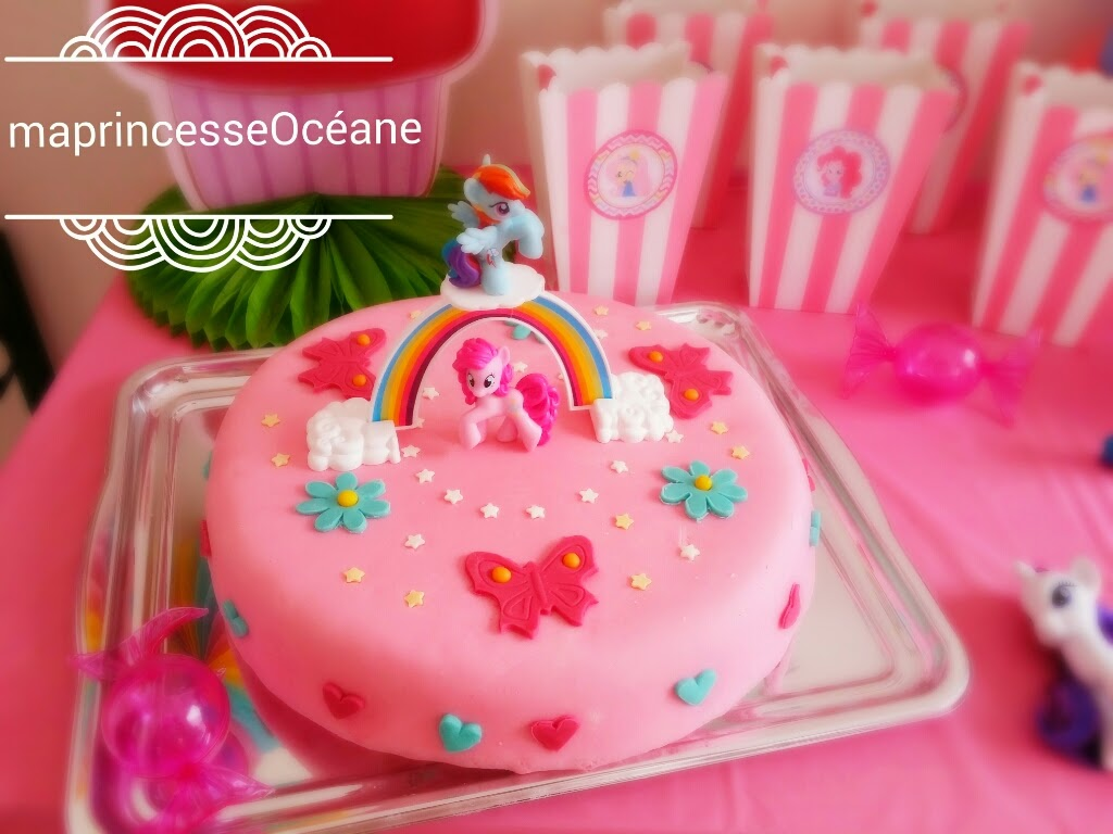 princesse oc ane sa f te d 39 anniversaire 6 ans my little pony. Black Bedroom Furniture Sets. Home Design Ideas