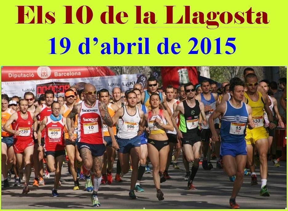 Els 10 de la Llagosta 2015