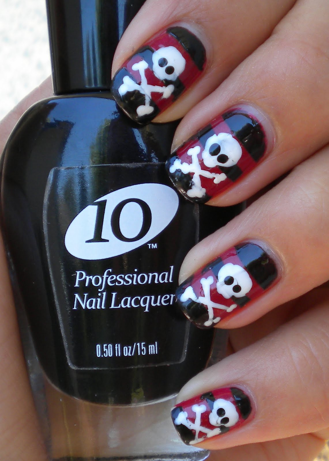 smile for the little things: Pirate Nails!