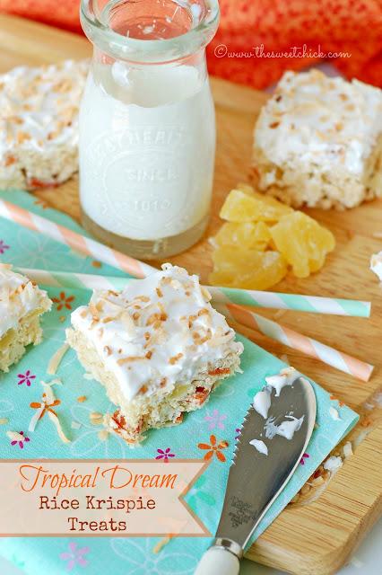 #oh!nuts #guava #pineapple #coconut #ricekrispies #bars #dessert #nobake #tropical