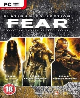 F.E.A.R: Platinum Collection PC Capa