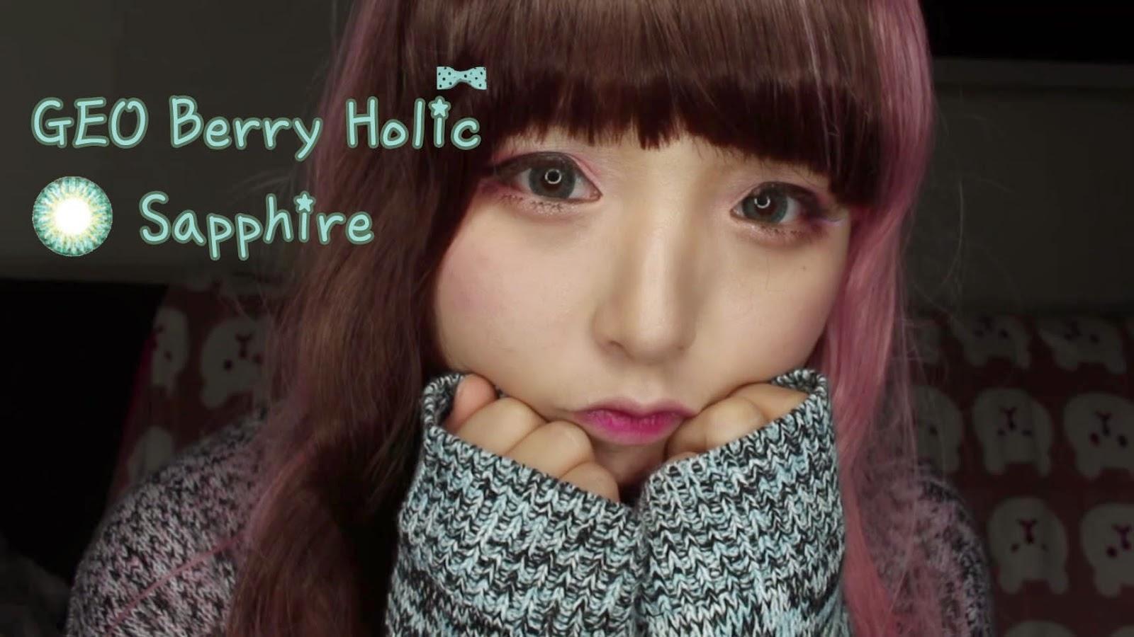 Geo Berry Holic Sapphire