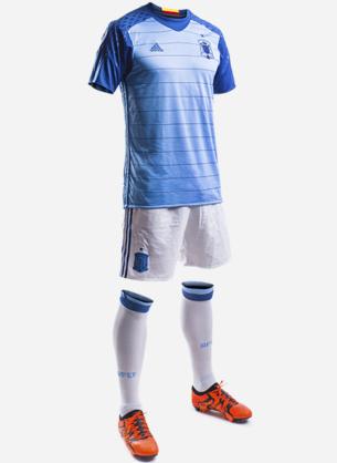 equipación camiseta portero selección española de fútbol primera Eurocopa 2016