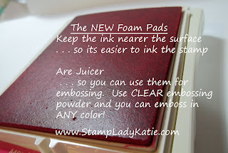 Stampin'UP!'s INK-redible new foam pad