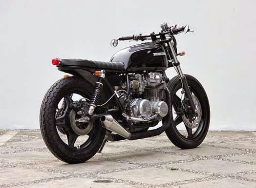 Modifikasi Motor Honda CB650