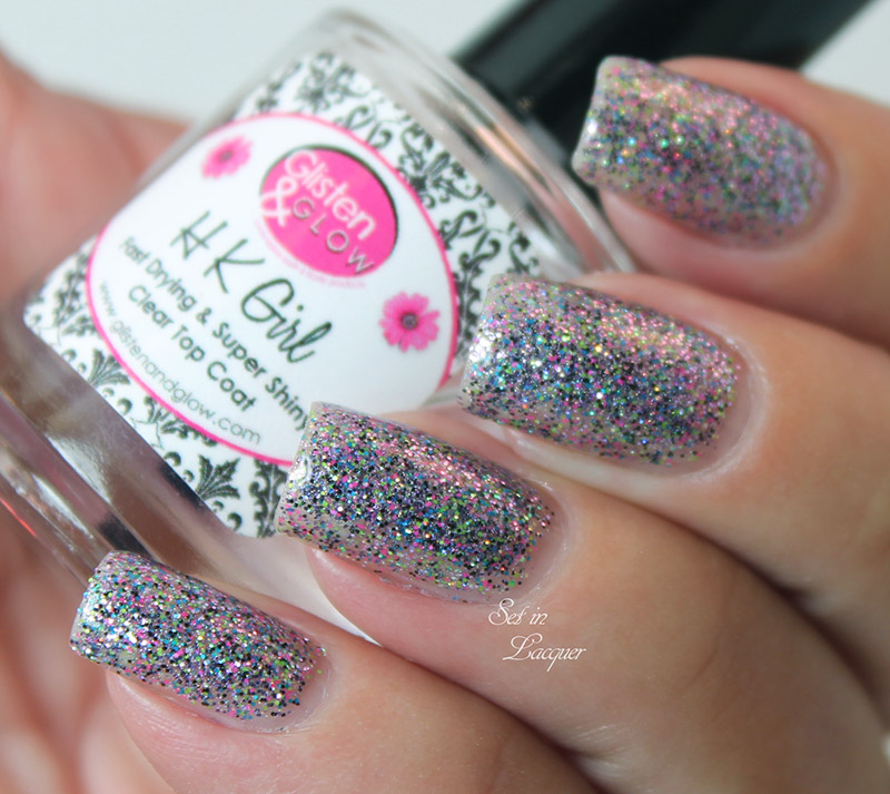 Dancing on Star Dust - with HK Girl top coat