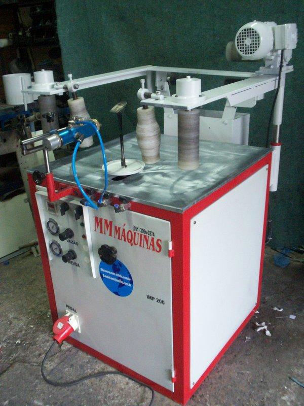 Maquinas para cal ados metaliza o e mecanismos para - Maquinas para pintar ...