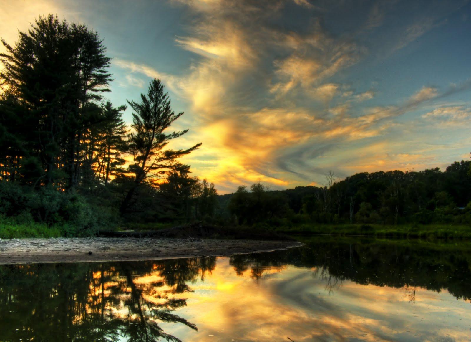 Matt Roginski Photography: Sunset in Union Village, VTunion village