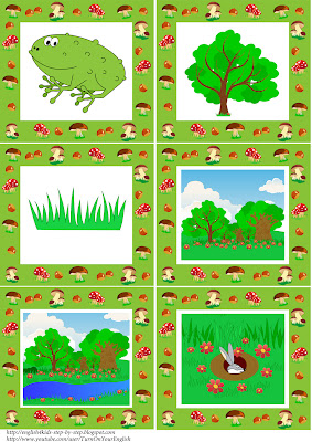 forest animals cards 3