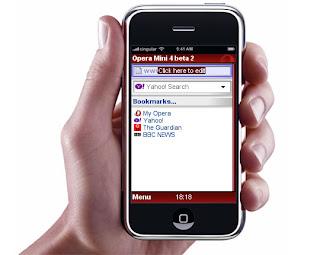 تشغيل الانترنت مجانا على Opera Mini باستعمال Mobilezone
