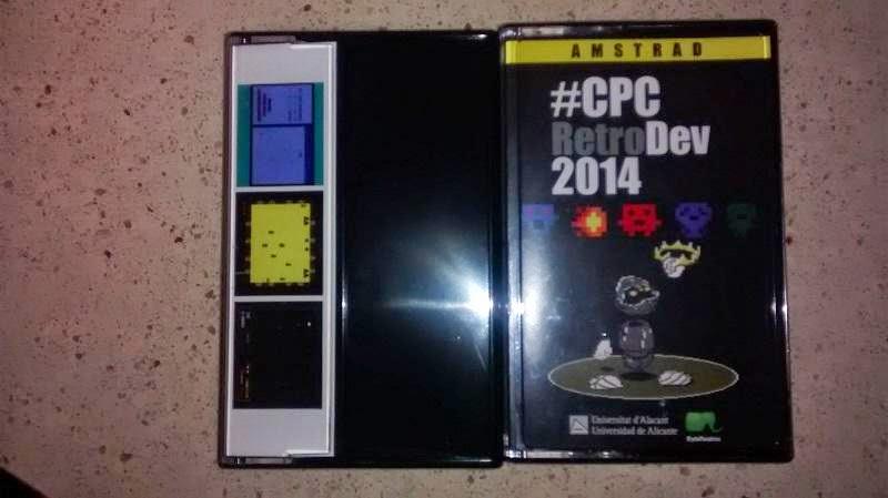 Ya a la venta la edición física con los juegos de la pasada #CPCRetroDev 2014