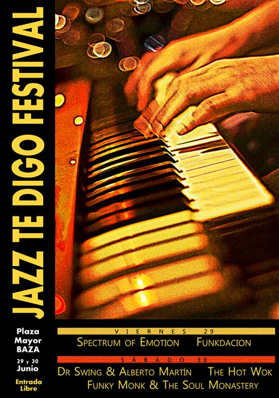 Festival Jazz te digo en Baza CARTEL_JAZZTEDIGO2012