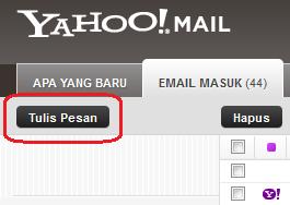 Cara Mengirim Pesan/Surat di Yahoo!