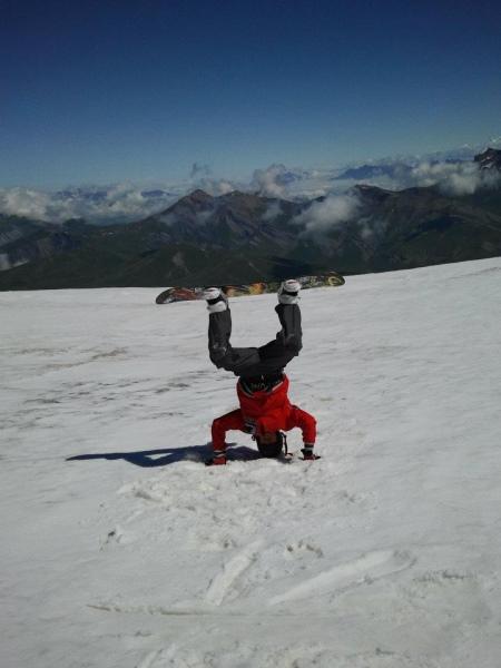 Deux Alpes Snowboard