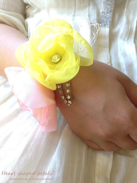 bridal accessories wrist corsage