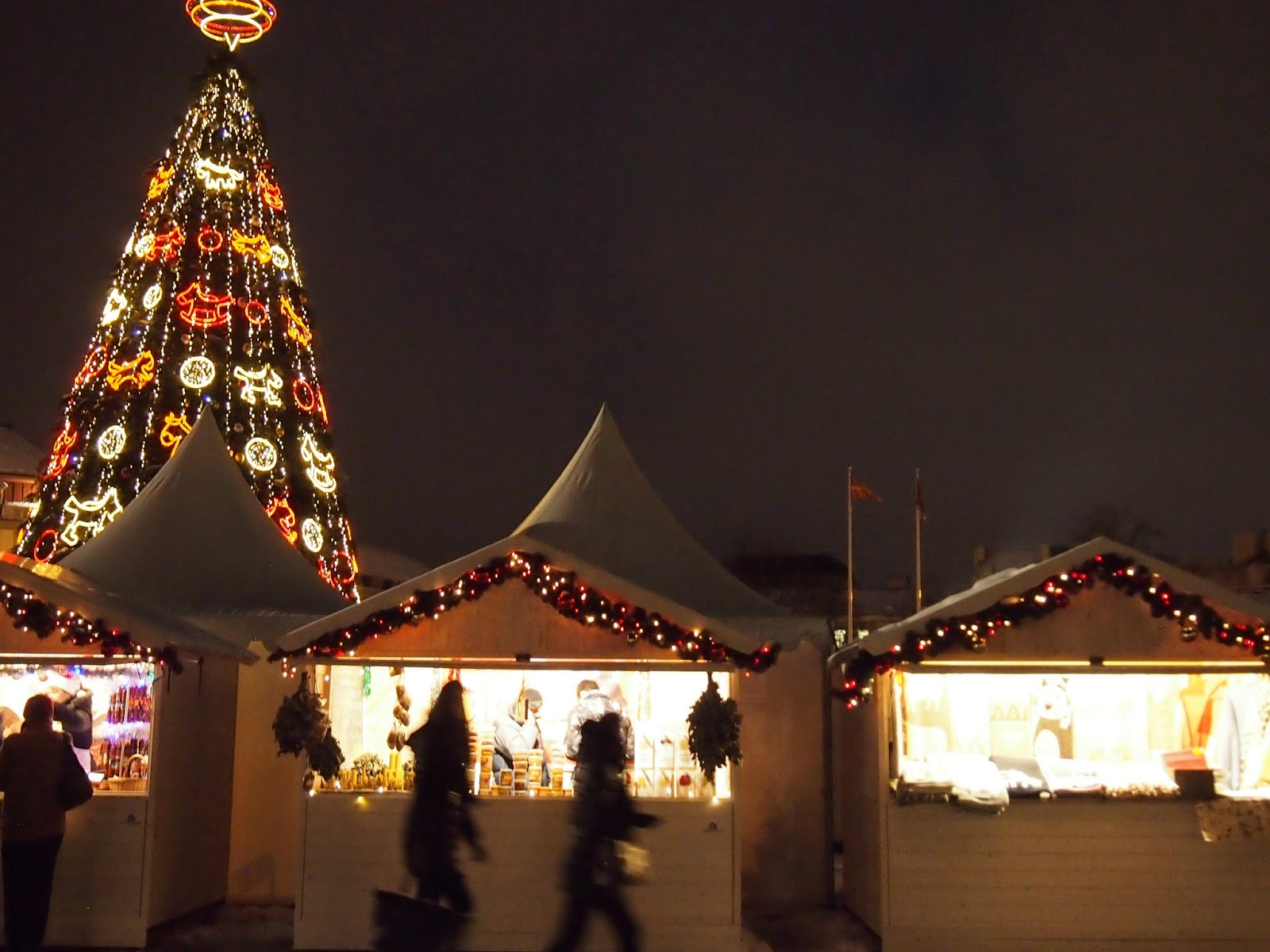 Christmas market in Vilnius, Lithuania