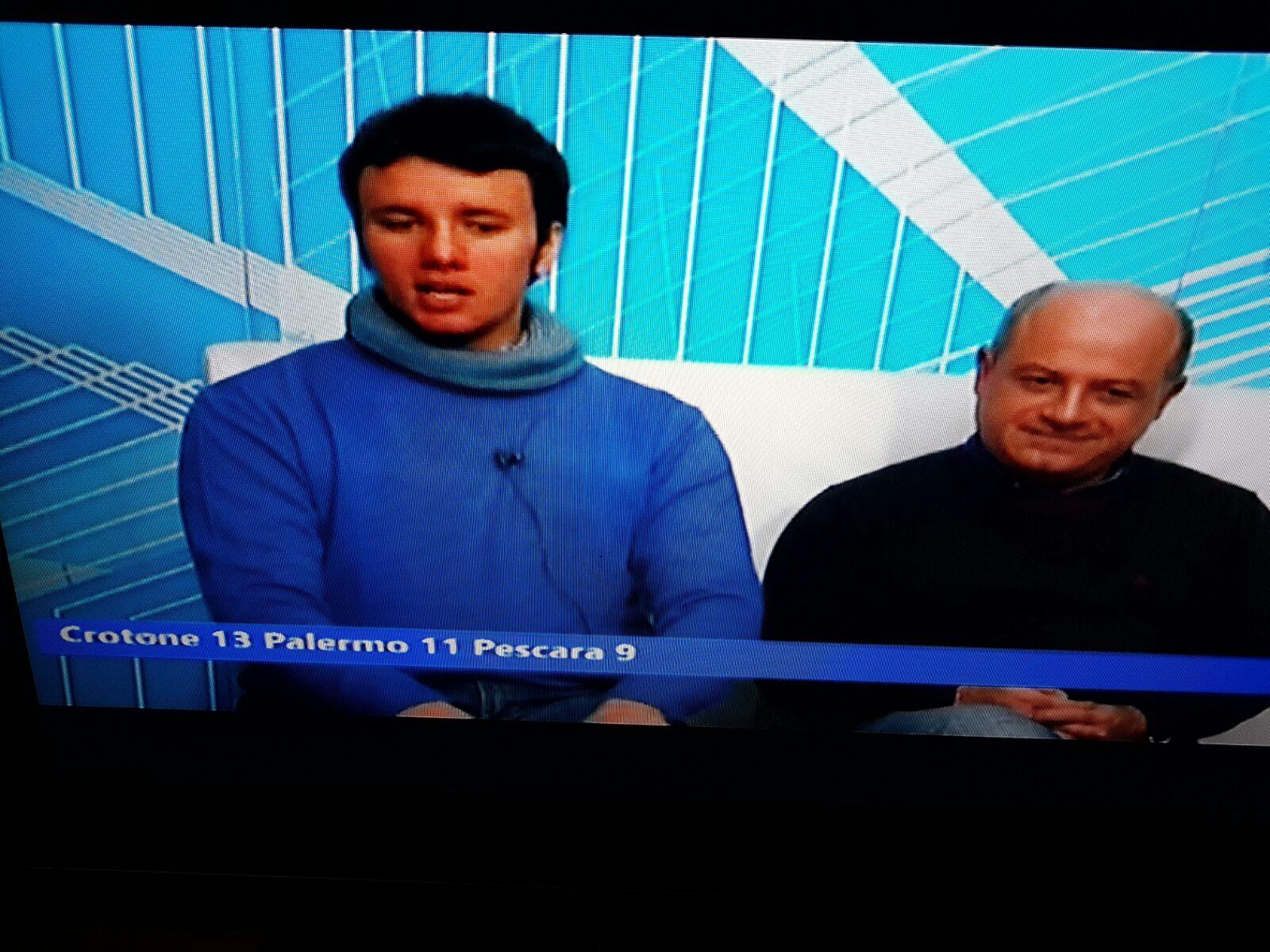 """Radio No Frontiere a """"Filo Diretto"""" su Rtn Tv del 02-02-17"""