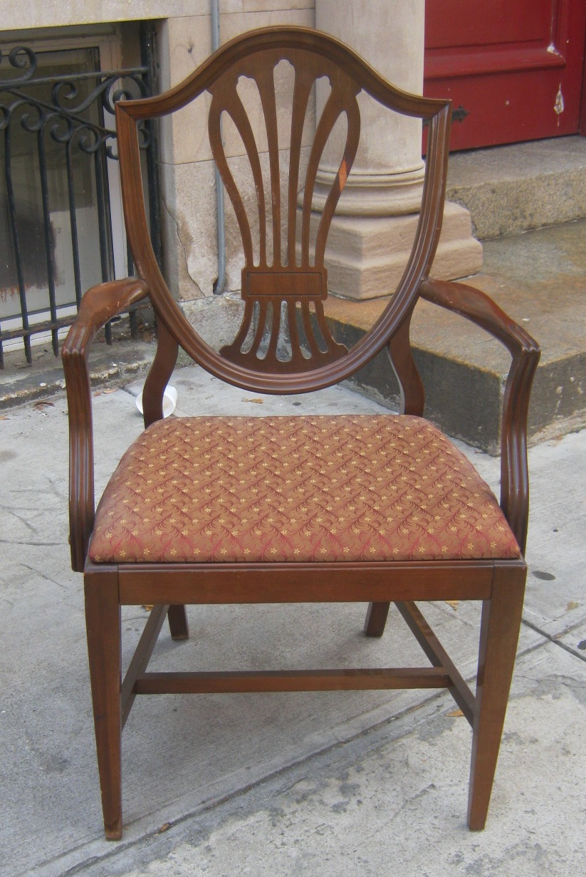 Uhuru Furniture & Collectibles: Duncan Phyfe Style Chairs-SOLD