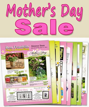 Mother's Day Sale Flyer - gifts for moms and grandmas!