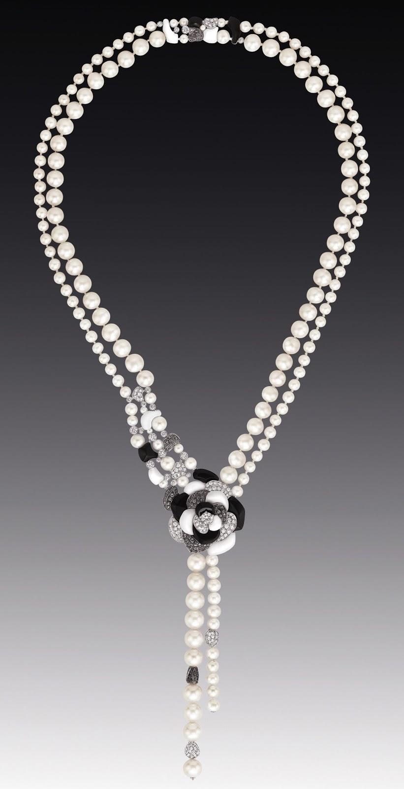 Chanel jardin de cam lias amazing new high jewellery for Jardin necklace