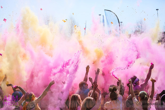 color med rad color bomb pink cornstarch knoxville 5k