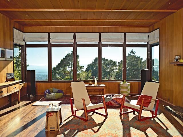 Esherick-Haus mit modernem Anbau als Prefab - offene Architektur perfekt für modernes Design