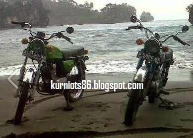 Honda CB 100 Pangandaran Honda Klasik