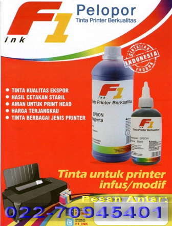 Iklan Tinta F1