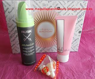 #Birchbox #maquillajeandbeauty