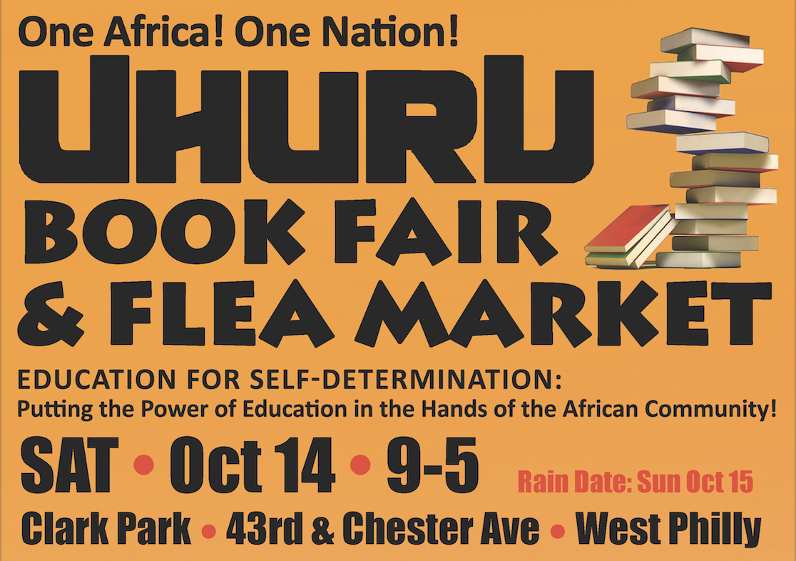 Uhuru Book Fair • Oct 14