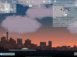 YoWindow meteo animato su PC