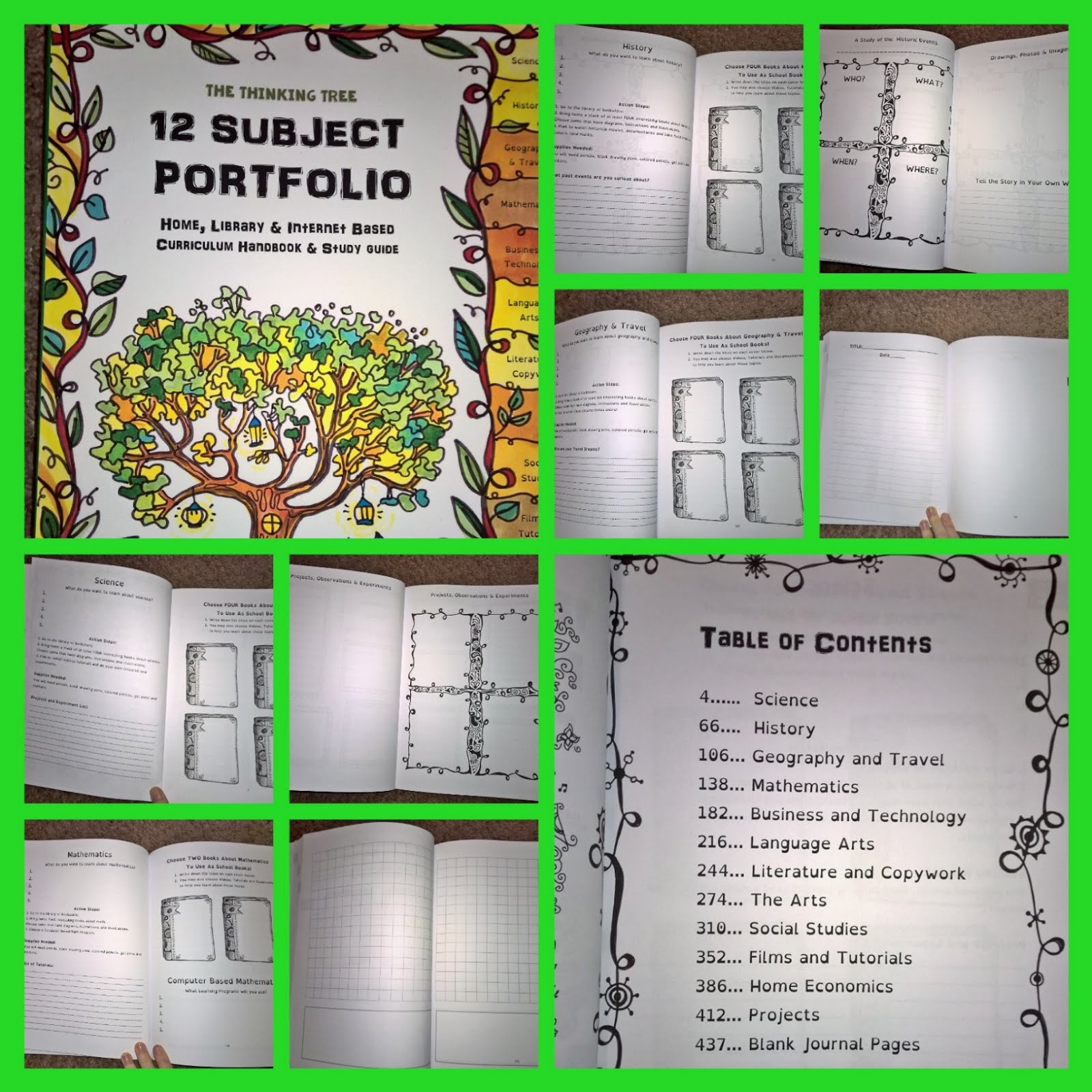 Its a good full journals and books from the thinking tree sample ages 3 to 7 fun schooling journal do it yourself homeschooling for beginners homeschool prep book for new readers and non readers solutioingenieria Images