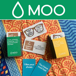 Business cards from MOO!