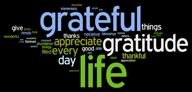 Gratitude words and synonyms