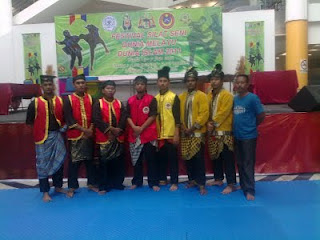 Bergendang di Festival Silat Melaka