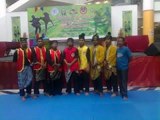 Bergendang di Festival Silat Melaka